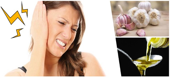 Chica con dolor de oídos