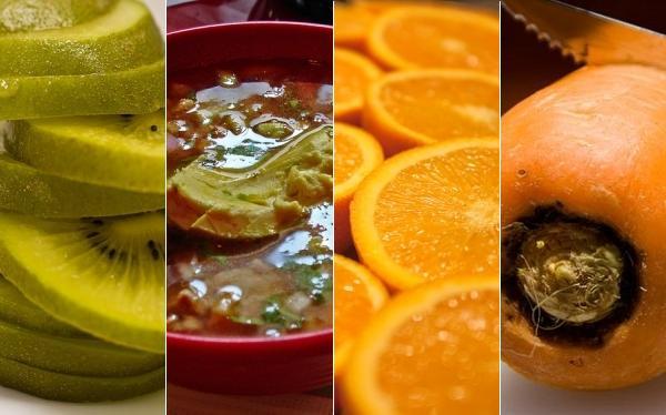 Collage de comida