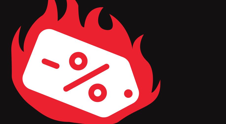 Logo de Hot Sale con descuentos