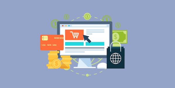 computadora y compras en internet - Compras en línea de forma segura