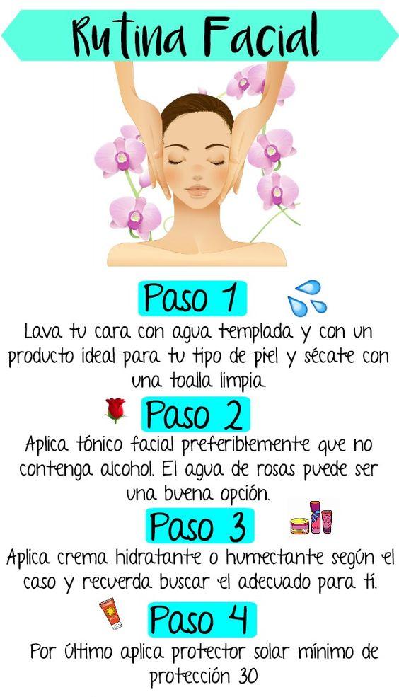 1.1 - Rutina de limpieza facial