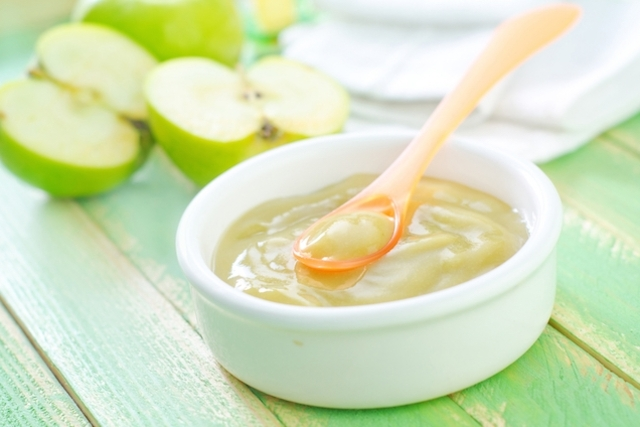 papilla de manzana - Cómo preparar papillas para bebés