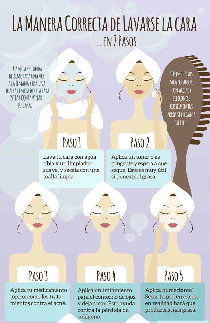 lavarse la cara - Tips básicos para el acné