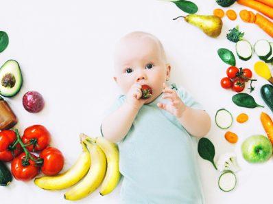 la alimentación en bebés